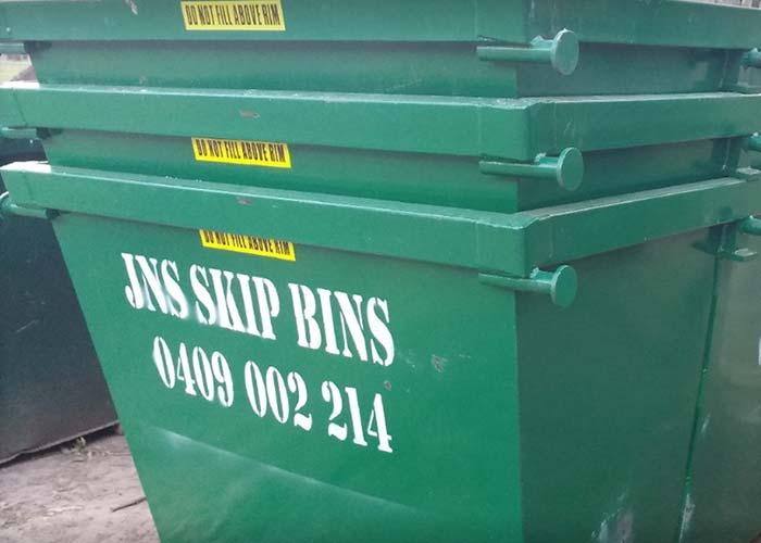 Pile of skips